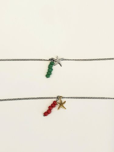 [2019 summer] Starfish Anklet [2color]
