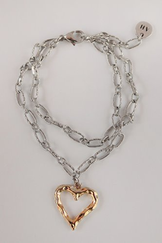 Truelove double chain bracelet 2color