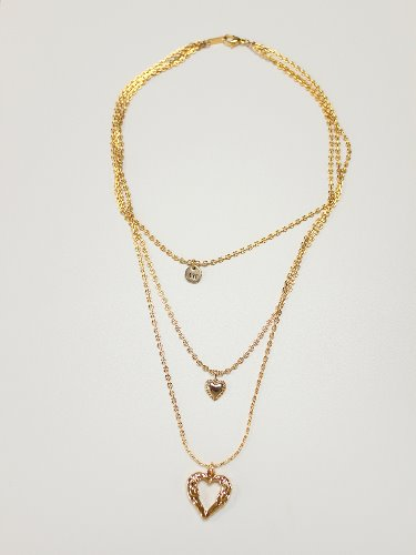 True love layerd necklace
