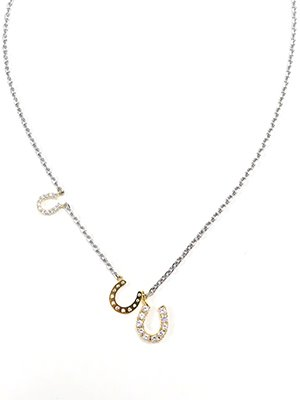 Triple Horseshoe necklace