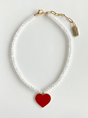 Pure love crystal Necklace