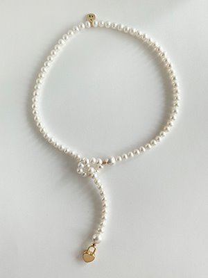 Lovely Pearl Y-drop Necklace