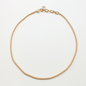 [CAPSULE] Box chain Necklace [gold]
