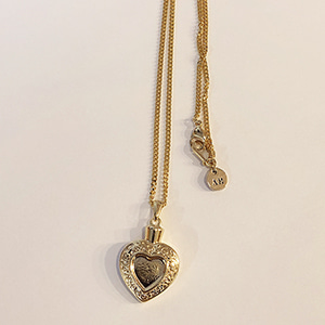 Love potion necklace [gold]