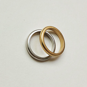 Basic Ring 1+1 [2color]