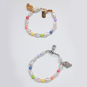 [2019 summer] Conch shell pearl bracelet [2color]