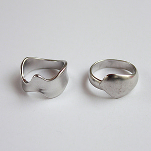 Lucy ring SET [silver]