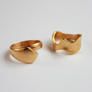 Lucy ring SET [gold]