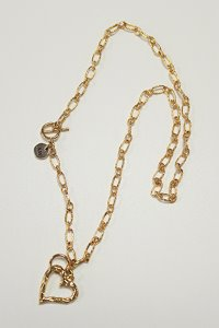 Truelove twoway necklace Gold