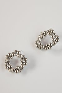 Cloud earring Silver