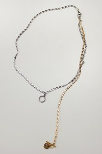 Houndstooth chain 3way necklace