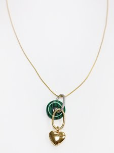 Sweet heart necklace [Gold]