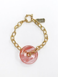 Rose gem bracelet [2color]