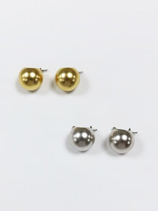 Small round earring [2color]