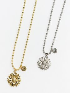 Daisy ball chain necklace [2color]