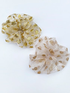 Sparkling scrunchie 2type