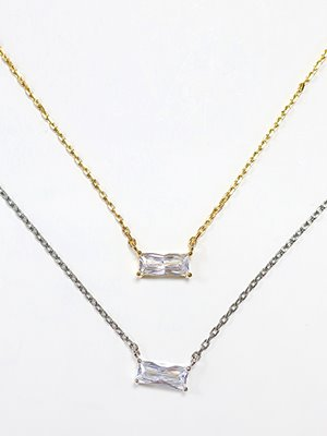Carrie's crystal necklace