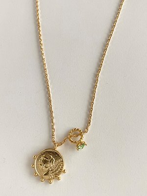 August Angel Necklace