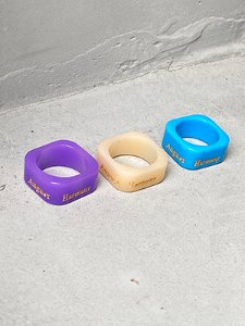 AH Square Ring 3color