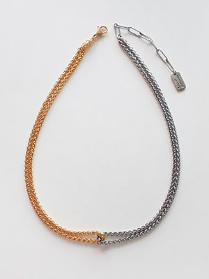 Mobius rope chain Necklace