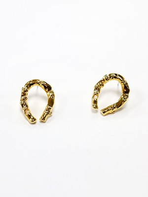 Big Horse shoe earring