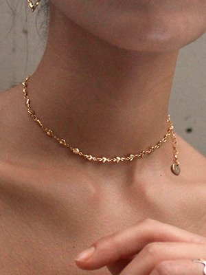 Little love Choker Gold