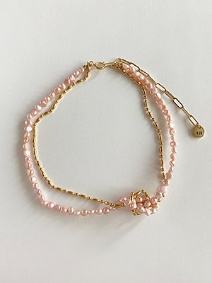 Babypink Pearl Necklace
