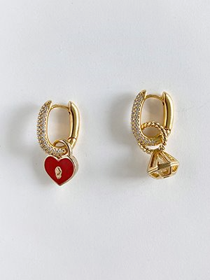 Love myself Hoop Earring Gold