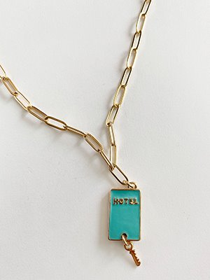 Hotel Key Necklace