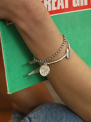 Earth Coin Bracelet